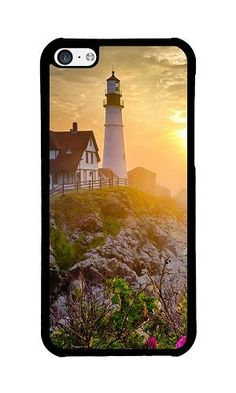 iPhone 5C Phone Case DAYIMM Lighthouse In Morning Mist Black PC Hard Case for Apple iPhone 5C Case DAYIMM? http://www.amazon.com/dp/B017I4DNT0/ref=cm_sw_r_pi_dp_m8trwb1Q8CCXH