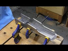 Making single blade dovetail infill plane , part 2 - YouTube