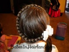 Letter C Hairstyle