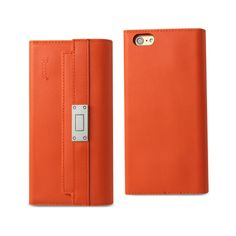 Reiko iPhone 6S Genuine Leather RFID Wallet Case And Metal Buckle Belt In Tangerine   Tag a friend who would love this!   FREE Shipping Worldwide   Get it here ---> https://www.spotrus.com/product/reiko-iphone-6s-genuine-leather-rfid-wallet-case-and-metal-buckle-belt-in-tangerine/