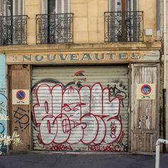 Rue Sainte-Françoise, Marseille 2e (Bouches-du-Rhône). Août 2017.