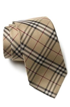 For Groom & Groomsmen  - Burberry London Woven Silk Tie #ourweddingcolors  #Nordstrom