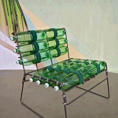(92) Bilim Proje Üretim Kulübü    Rebar, chair webbing, hose clamps and empty bottles.