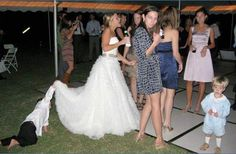 Nice View ~ 15 Funny Wedding Pictures