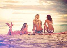 Surf :: Ride the Waves :: Free Spirit :: Gypsy Soul :: Eco Warrior :: Surf Girls :: Seek Adventure :: Summer Vibes :: Surfboard Design + Style :: Free your Wild :: See more Untamed Surfing Inspiration Pink Summer, Summer Of Love, Summer Beach, Summer 2014, Free Summer, The Beach, Beach Bum, Beach Hair, Beach Girls