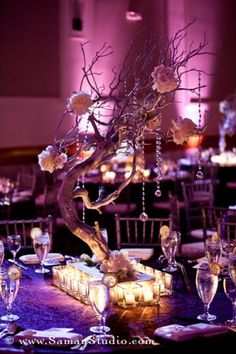 Purple And Green Wedding Ideas   purple and silver wedding centerpieces   Reference For Wedding ...