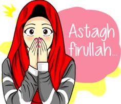 Hijab Raihana by Ariyadi Arnas Cute Love Memes, Cute Love Cartoons, Birthday Quotes For Her, Humor Birthday, Cartoon Quotes, Funny Quotes, Urdu Quotes, Anime Muslim, Muslim Hijab