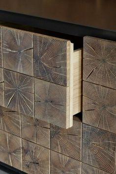 Meyer von Wielligh's Instomi metal sideboard from the carpentry studio's organic-inspired signature collection - SFD Skandinavisk Möbeldesign -