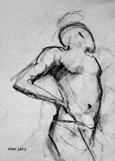 My Art - Gesture - Charcoal