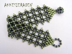 Tutorial OLace bracelet A bracelet with O beads by Akkesieraden, €7.50