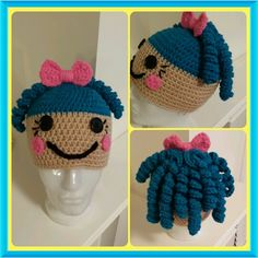 Crochet Hat - Lalaloopsy inspired