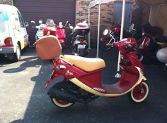 2009 Genuine Scooter International Buddy Scooter , Pamplona - Burgundy and Cream, 45 hours for sale in Chicago, IL