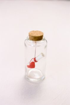8 Must-Try Valentine's DIYS/// . Message in Bottle Valentine by Camille Styles