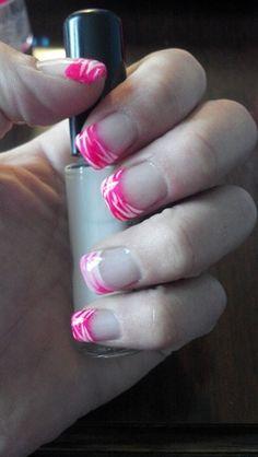 HOT Pink - Nail Art Gallery by NAILS Magazine