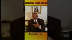 Pastor Steven L. Turner at the 2020 Harlem Book Fair Authors, Interview, Christian, Tours, Music, Youtube, Fictional Characters, Pastor, Muziek