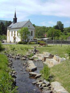 Bischofsheim Rhön Wasserspielplatz & Klanggarten