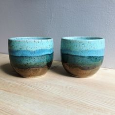 Green & Gold Cup Hand made Ceramic Tumbler by MelissaJuneCeramics