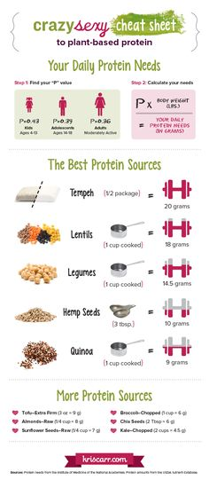 LOVE KRIS CARR!! She breaks down Plant-based Protein  info. here:) Learn the basics of plant-based protein options in this week's article!