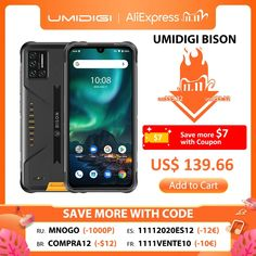 "UMIDIGI BISON IP68/IP69K Waterproof Rugged Phone 48MP Matrix Quad Camera 6.3"" FHD+ Display 6GB+128GB NFC Android 10 Smartphone umidigi a5 pro wallpaper,umidigi a7 pro,umidigi power 3,umidigi f1,wallpaper umidigi,umidigi a5 pro cases,umidigi a3,umidigi s5 pro,umidigi a3 pro,umidigi f2,umidigi a5 pro, #umidigia5prowallpaper #umidigia7pro #umidigipower3 #umidigif1 #wallpaperumidigi #umidigia5procases #umidigia3 #umidigis5pro #umidigia3pro #umidigif2 #umidigia5pro"