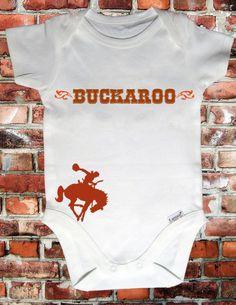 cowboy monthly onesie   Buckaroo Baby Onesie! #urbanbabyco #cowboy #rodeo #cowgirl #Western # ...