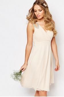 vestido de novia civil bisutería $ 60.000