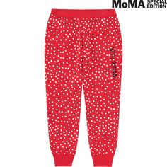 want!!!  WOMEN SPRZ NY SWEATPANTS (YAYOI KUSAMA)