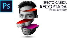 EFECTO SLICED HEAD COLOR | PHOTOSHOP CC | Tutorial #44