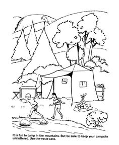 Earth Day Coloring Pages - Ecology protects the clean ...
