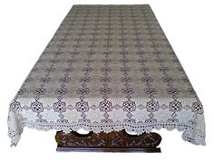 OOAK... Tablecloth crochet tablecloth of fine thread by woolopia, $3200.00