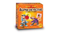 ALPHA DÉTECTIVE Family Games, Tabletop Games, 12 Year Old, Vocabulary