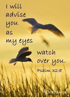 Psalm 32:8 www.celebrateyourfaith.com