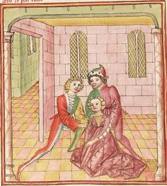 Elisabeth <Nassau-Saarbrücken, Gräfin, 1393-1456> Herpin — Stuttgart (?) - Werkstatt Ludwig Henfflin, um 1470 Cod. Pal. germ. 152 Folio 192v
