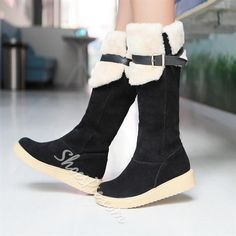 New Arrival Knee High Snow Boots