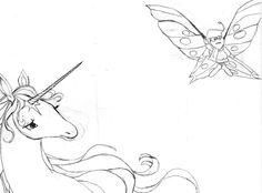the last unicorn coloring pages - Google Search