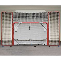Ezgoal Hockey Goal with Backstop and Targets