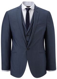 Nick Hart Airforce Notch Lapel Jacket - Summer Suits - Austin Reed