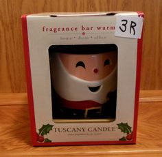 Santa fragrance warmer will help you get in the Holiday spirit!