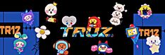 Random Logo, You Are My Treasure, Photo Scan, Line Friends, Logo Sticker, Kpop Groups, Meme, Stickers, Art