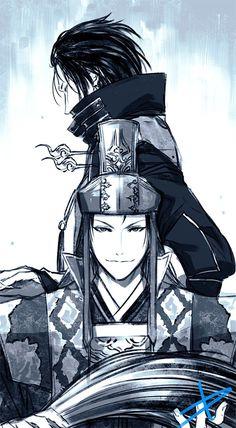 Warriors Game, Dynasty Warriors, Sengoku Musou, Basara, Samurai Warrior, Fan Art, Manga, Video Games, Warriors