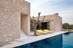 Peace and quiet reign at this secluded Moroccan hideaway, designed for a hotelier and interior designer. Villa Mabrouka near Essaouira is the passion project of Willem Smit. Contemporary Stairs, Contemporary Home Decor, Contemporary Architecture, Contemporary Design, Contemporary Apartment, Contemporary Chandelier, Contemporary Landscape, Modern Design, Garden Deco