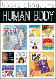 Books about the Human Body:  The Magic School Bus is my favorite!  :)