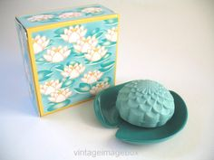 AVON Waterlily Soap and Dish boxed vintage by VintageImageBox, £3.95