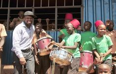 US rapper 50 cents doing great work at an orphanage in #Africa #50cent #luxury #rap