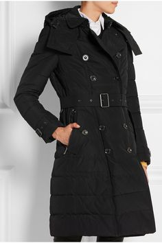 Burberry Brit | Quilted shell down coat | NET-A-PORTER.COM
