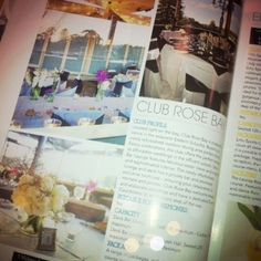 @Modern Wedding mag! Page 16 in the Clubs NSW supplement ~ Weddings in our Deck Bar Lounge www.clubrosebay.com.au