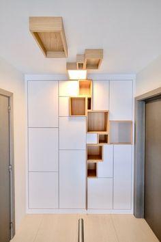 Home Library Design, Home Office Design, House Design, Bookshelf Design, Wall Shelves Design, Home Decor Bedroom, Diy Room Decor, Home Furniture, Furniture Design