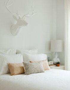 I want that Bone White Deer head! too cute.  #CambriaQuartz #InspirationBone