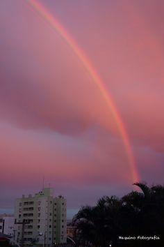Arco Íris em Joinville - SC Brasil