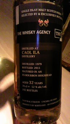Islay Whisky, Caol Ila 1979 32y, The Whisky Agency