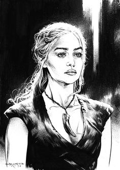 Game of Thrones - Daenerys Targaryen by Drumond Art *